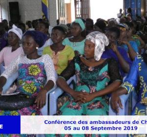 Conférence MJPE Région Lomé-Djidjolé