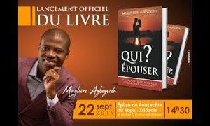 Lancement officiel du livre «QUI EPOUSER» – 22 Sept 2019