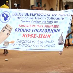Inauguration du groupe folklorique des Femmes du District de Tokoin Solidarité le 27-05-2018